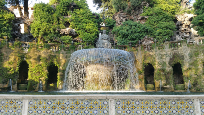 Il giardino all italiana l esempio di villa d este for Esempi giardino