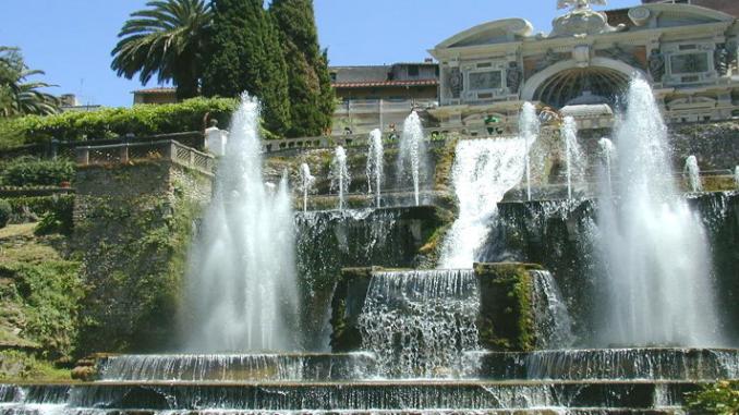 organo idraulico di Villa d'Este