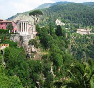 villa gregoriana tivoli tour