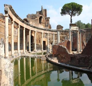 villa adriana visite